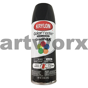 Krylon Color Master Aquatint Black Spraypaint