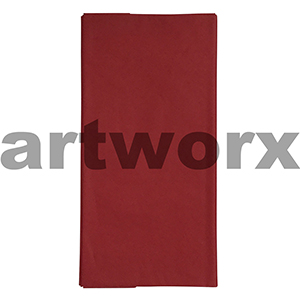 5pk Red 500x700mm Tissue Paper