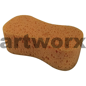 Large Orange Art Sponges