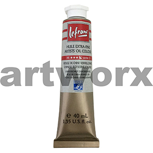 Chinese Red Vermillion Hue s3 Le Franc Oil Paints