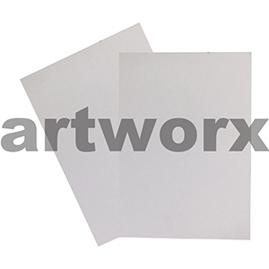 270gsm Leathergrain Hi White Textured A4 Cardstock