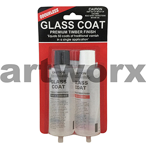 Resin Glass Coat 2 x 125ml