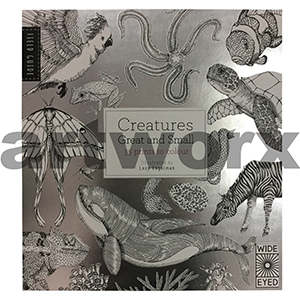 Creatures Great and Small Adult Colouring Book