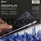 "10pc Inkofilm 8x8"" Sheets Lumi"