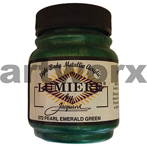 Emerald Green 572 Lumiere Acrylic Paint
