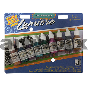 Lumiere & Neopaque Halo Jewel 9x14ml Acrylic Ink