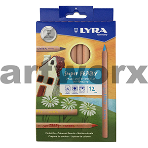 12pc Nature Super Ferby Lyra Pencils