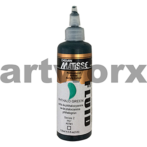 Phthalo Green s2 135ml Matisse Fluid Acrylic Paint