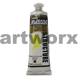 Bismuth Yellow s5 Derivan Matisse Structure 75ml