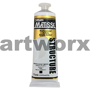 Iridescent White s4 Derivan Matisse Structure 75ml