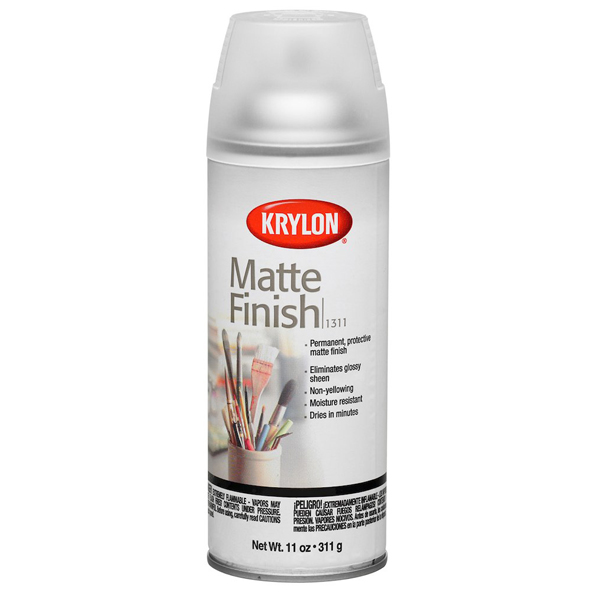 Matte Finish 311g Krylon Spray