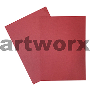 A4 Metallic Bright Red Cardstock 285gsm