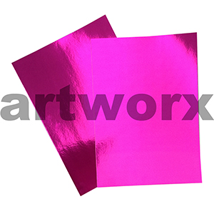 Cerise 510x640mm Foil Card