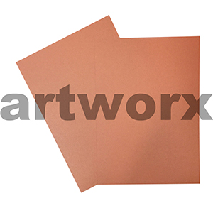 A4 Metallic Orange Cardstock 285gsm