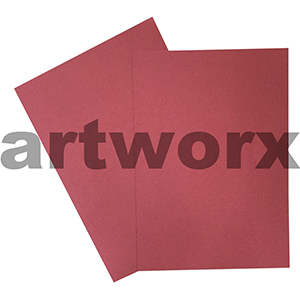 A4 Metallic Red Cardstock 285gsm