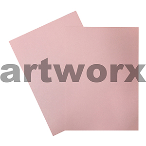 A4 Metallic Rose Cardstock 285gsm