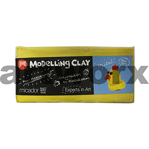 Yellow 500gm Micador Modelling Clay