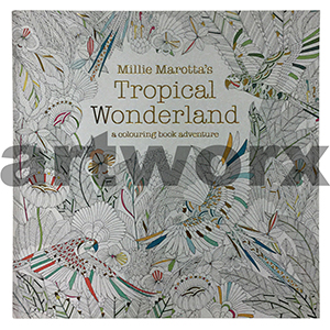 Tropical Wonderland Adult Colouring Book by Millie Marotta