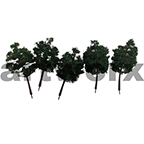 TB-90E 1:100-1:200  Scale Tree 5pcs