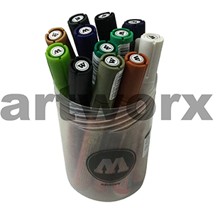 12pc Main Set Molotow Marker Kit 2
