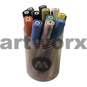 12pc Pastel One4All Molotow Marker Kit