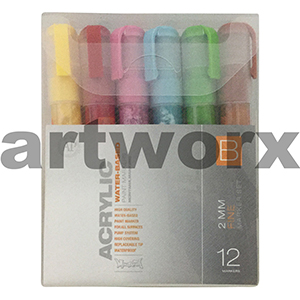 12pc 2mm B Pack Montana Markers