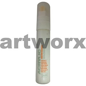 Shock White Pure 15mm Montana Acrylic Paint Marker