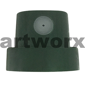Montana Level 6 Green Ultra Fat Spray Paint Cap