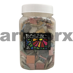 1kg 20x20mm Mosaic Clay Tiles