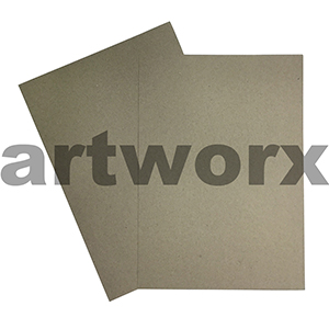 A4 115gsm Natural Recycled Grey-Brown Cardstock