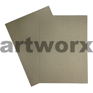 A4 230gsm Natural Recycled Grey-Brown Two Tone Cardstock