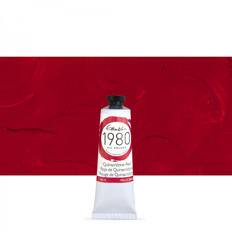 Quinacridone Red s2 1980 37ml Gamblin Oil Paint