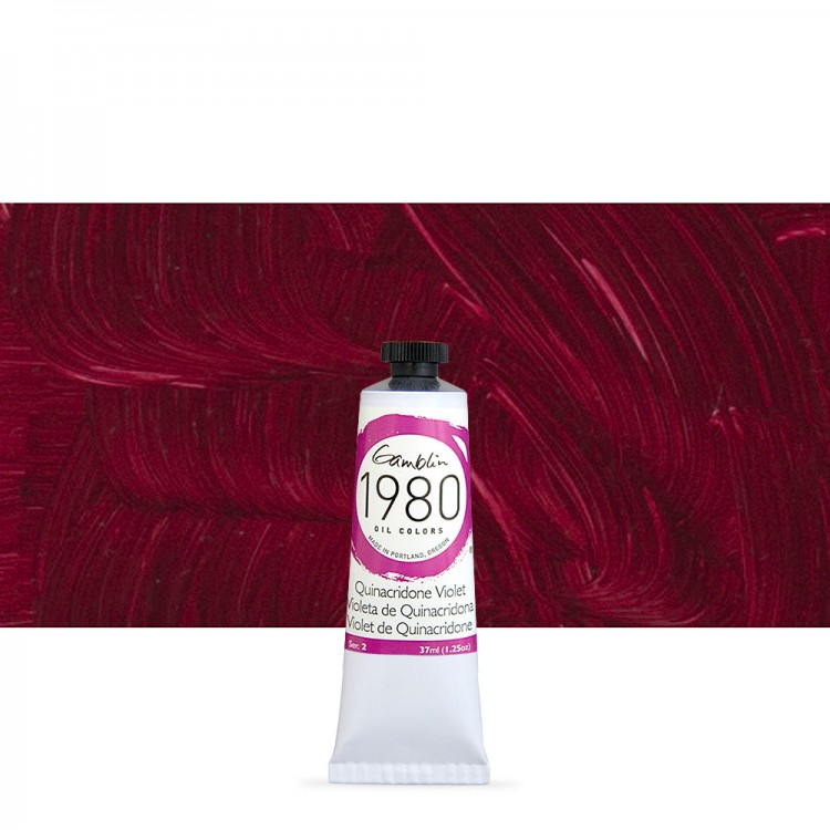 Quinacridone Violet s2 1980 37ml Gamblin Oil Paint