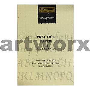 A4 Odmiroid Calligraphy Foundation Practice Paper 50 Sheets