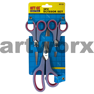 Office Central 3pc Art Scissors