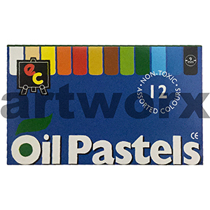 12pc Oil Pastels EC