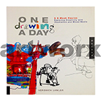 One Drawing a Day Book by Veronica Lawlor