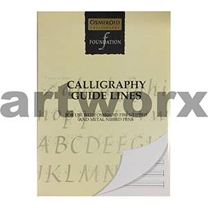 A4 Osmiroid Calligraphy Foundation Calligraphy Guide Lines