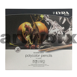 24pc Polycolour Lyra Pencils