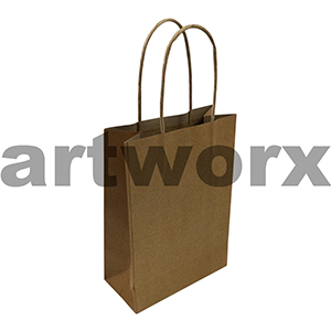 13x24cm Recycled Brown Paper Bag