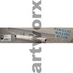 30cm Draftex Parallel Rolling Ruler