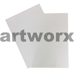 510x640mm 600gsm (10 sheet thickness) White Pasteboard