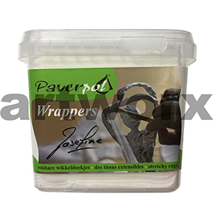 100pc Paverpol Wrappers Stretchy