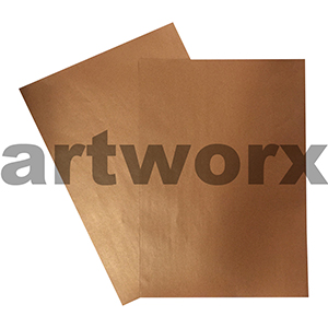 110gsm Copper Metallic Paper Pearla