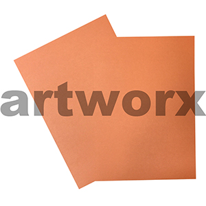 A4 Pearla Orange Cardstock 270gsm