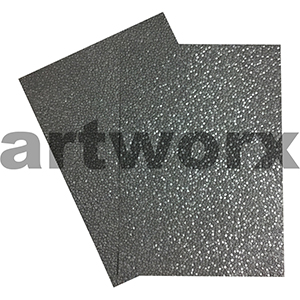 Charcoal Sheen Pebble Paper A4 Embossed