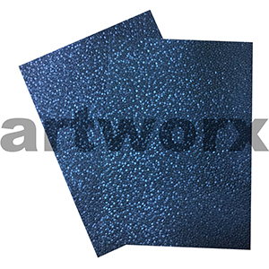 Indigo Sheen Pebble Paper A4 Embossed