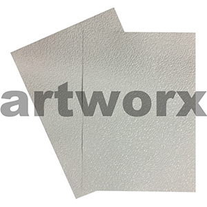 White Sheen Pebble Paper A4 Embossed
