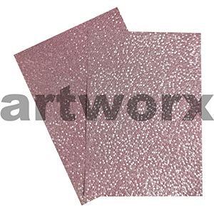 Pastel Pink Sheen Pebble Paper A4 Embossed