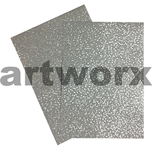Silver Sheen Pebble Paper A4 Embossed